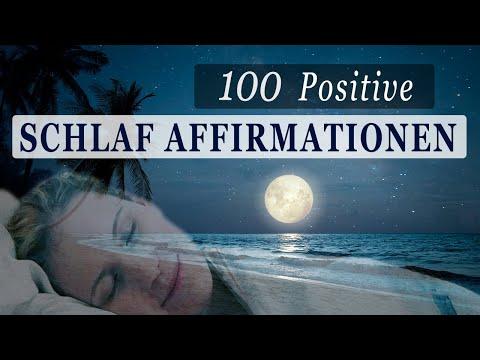 100 Schlaf-Affirmationen für Gesundheit, Erfolg, Liebe, Wohlbefinden, Geld...