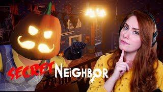 NEW HALLOWEEN MAP | Secret Neighbor w/Graser, HBomb, Shubble and LaurenZside