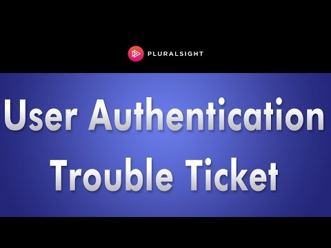 User Authentication Trouble Ticket Lab