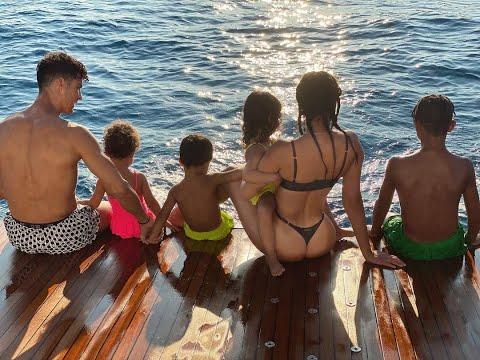 YILDIZ FUTBOLCULAR VE ÇOCUKLARI l Jr Ronaldo, Quaresma, Neymar, Messi ..