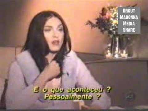 (p1) Madonna's Bizarre Interview With Brazilian Journalist video