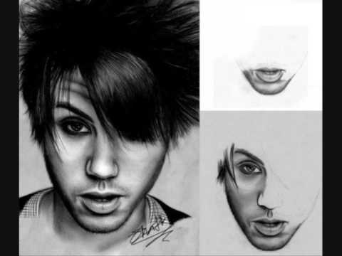 some of my art/drawings. [fueled by ramen / decaydance bands]
