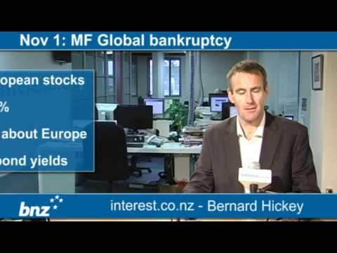 90 seconds at 9 am: MF Global bankruptcy (news with Bernard Hickey)