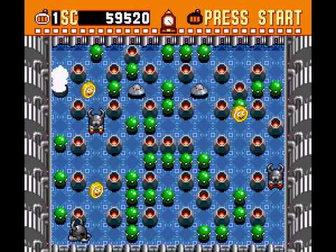 Super Bomberman - Playthrough and Ending - User video