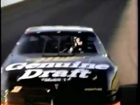 Miller Beer Ad with Rusty Wallace of NASCAR from 1991 Video