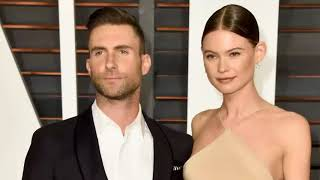Adam Levine's wife Behati shared an adorable Father's Day photo of the shirtless 'The Voice' coach c