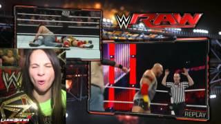 WWE RAW 2/2/15 Ryback vs Luke Harper Live Commentary