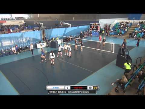 2016 Volleyball BC Provincial Championships 18U Girls Gold