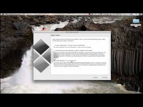 How to install windows 8 or 7 on a Mac via bootcamp using a USB
