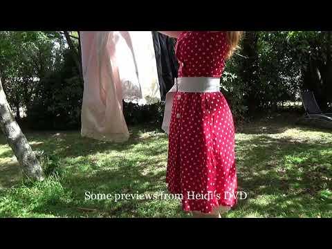 Heidi mostrando enaguas thumbnail