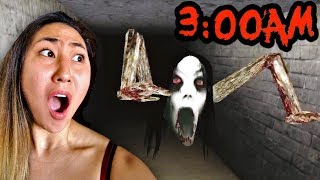 SLENDRINA ESCAPE THE CELLAR CHALLENGE with LIZZY!!