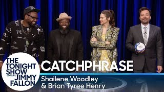Catchphrase with Shailene Woodley and Brian Tyree Henry