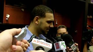 Jared Dudley postgame, Suns vs. Clippers: April 1, 2011