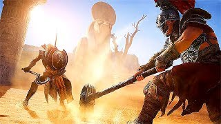 Assassin's Creed Origins GLADIATOR ARENA - The Hammer Boss Fight #1 | Mercy & No Mercy