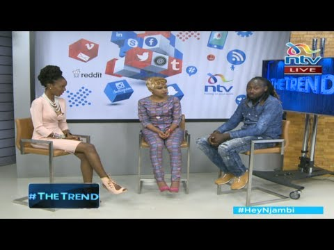 #theTrend: Size 8 and  Alemba on their new song aimed to encourage the youth