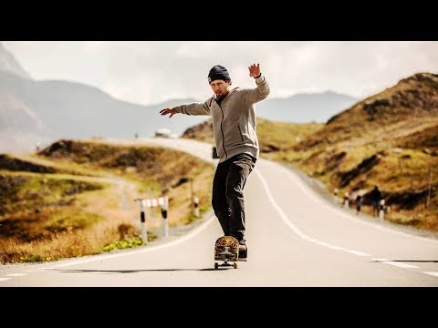 Swiss skateboarder manuals for over two kilometres | Simon Stricker's Manual