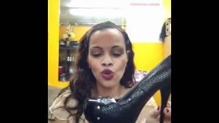 Johanna salon shoes, hair, accessories