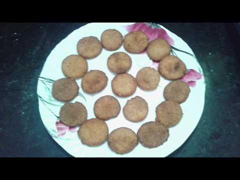 Kobbari biscuits recipe in telugu