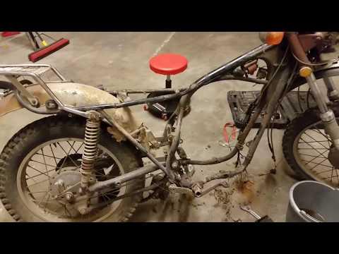 1974 Yamaha RT360 Project: Engine Teardown 1