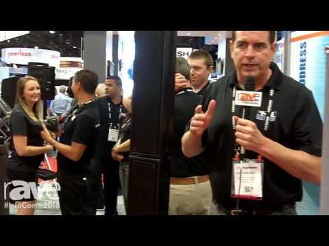InfoComm 2016: Anchor Audio Demos Beacon Line Array