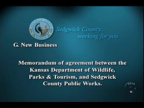 Memorandum of agreement between KWDPT and Sedgwick County