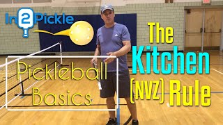 The No Volley Zone (or kitchen) Rule - Debunked, explained, and repackaged