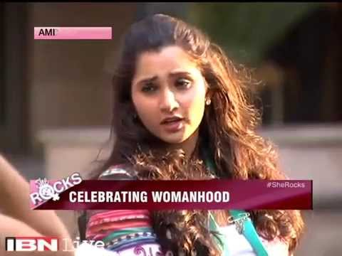 Panel Discussion With Goodwill Ambassador Sania Mirza On Cnn-ibn video