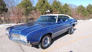 1970 Olds cutlass S for sale at www coyoteclassics com