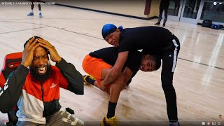 CRAZIEST $10,000 1vs1 BASKETBALL GAME I'VE EVER WITNESSED! DDG vs YK OSIRIS!
