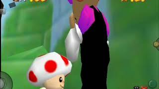 Super Mario 64 Unlock Princess Peach Fake