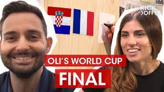 World Cup 2018 Predictions Show | Final: France vs. Croatia