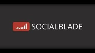 Me On Social Blade!