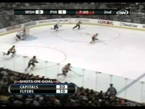 Philadelphia Flyers vs Washington Capitals. 20 december 2008