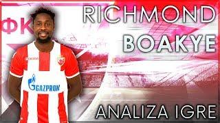 Richmond Boakye - Analiza igre   FK Crvena zvezda