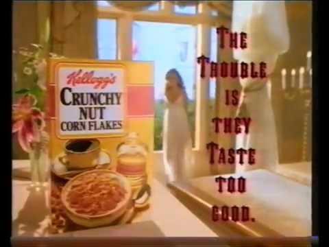 Kellogg's crunchy nut corn flakes drakula (OLD Adverts)