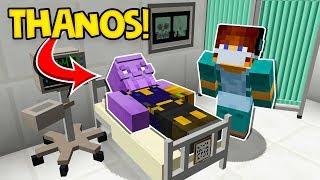 CIRURGIA NO THANOS ! Guerra Infinita O Filme - ( Minecraft Cirurgia )