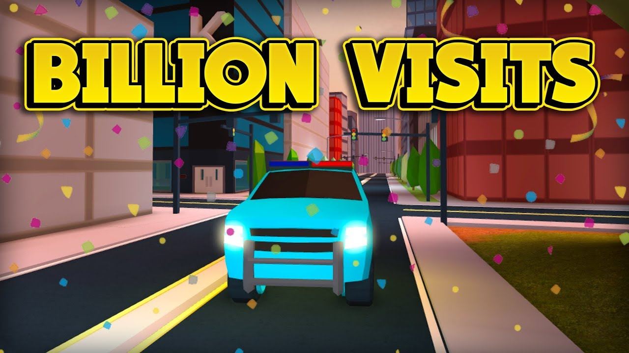 NEW ONE BILLION VISITS UPDATE! (ROBLOX Jailbreak)