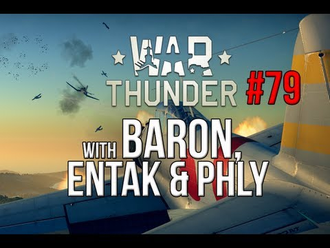 War Thunder Gameplay - Japanese Squad Tactics - With eNtaK and Phly