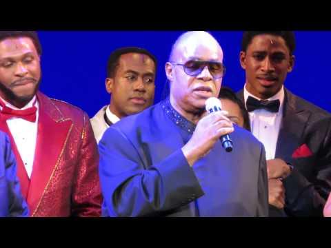 Berry Gordy, Smokey Robinson Speak; Stevie Wonder Sings At
