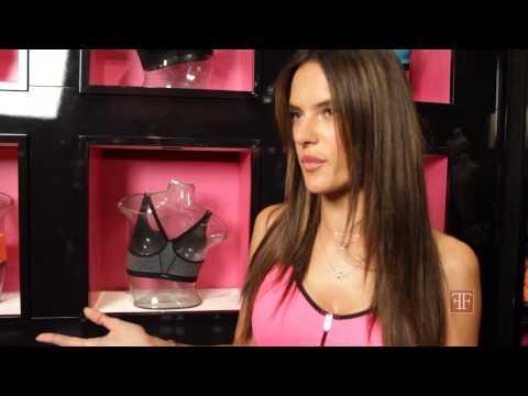 Alessandra Ambrosio Talks Body Image and the Victoria's Secret Knockout Font-Close Bra