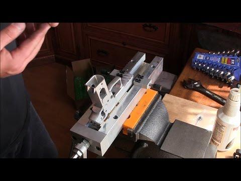 Sig 229 Build - 1 - Rail Cutting with Matrix Precision Jig
