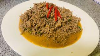 Keto Thai ground beef red curry | แกงเผ็ดเนื้อสับ คีโต สูตรนี้ อร่อยมากๆค่ะ