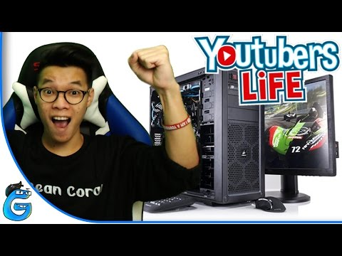 UPGRADE PC SPECIAL 20K SUBSCRIBERS - YOUTUBERS LIFE INDONESIA #4