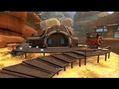 Ratchet & Clank Future: A Crack In Time Part 20: Finding The Obsidian Eye