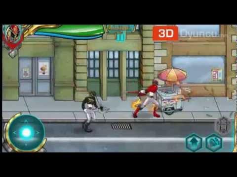 power rangers megaforce 3d oyunlar youtube