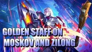 GOLDEN STAFF NOW WORKS WITH ZILONG AND MOSKOV MOBILE LEGENDS