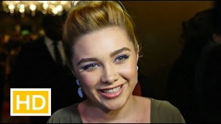 Florence Pugh on Maisie Williams, The Falling and Lady Macbeth at UK Critics' Circle Awards 2016