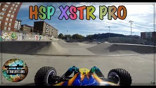 RC BUGGY XSTR PRO speed 4x4 (HSP) brushless 1/10 Unboxing + Test