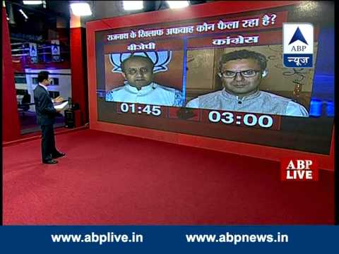 ABP LIVE debate: Who is spreading rumours against Rajnath Singh?