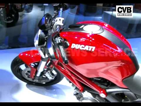 AUTO EXPO 2012: DUCATI INDIA UNVEILS MONSTER M795 cvbnews